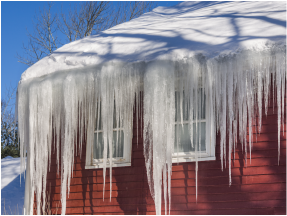 Are Icicles On Gutters Cause For Concern Holloway Gutter Corp